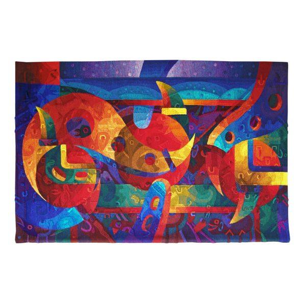 """Blue Spirit of the EarthSize: 47 x 74"""""""