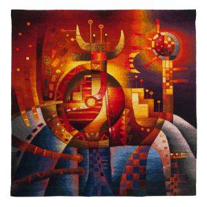 """Cosmic EnergySize: 47 x 47"""""""