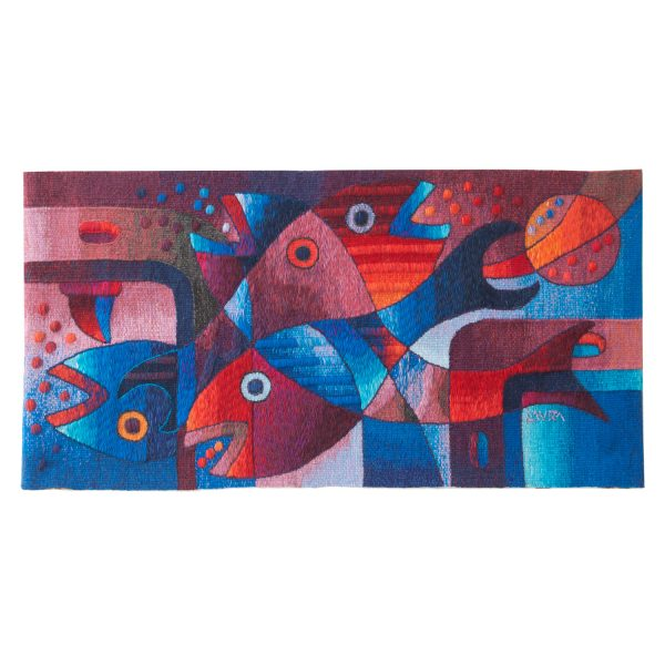 Fish FamilySize: 19 x 39""