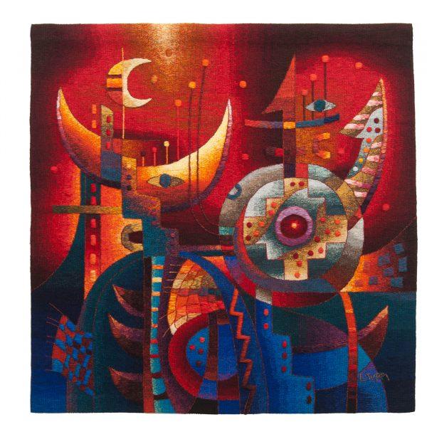 """Cosmic Harmony ISize: 47 x 47"""""""
