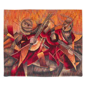 "Musicians at Harvest FeastSize: 39 x 47"""
