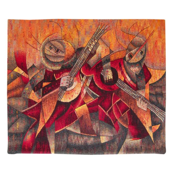 Musicians at Harvest FeastSize: 39 x 47""