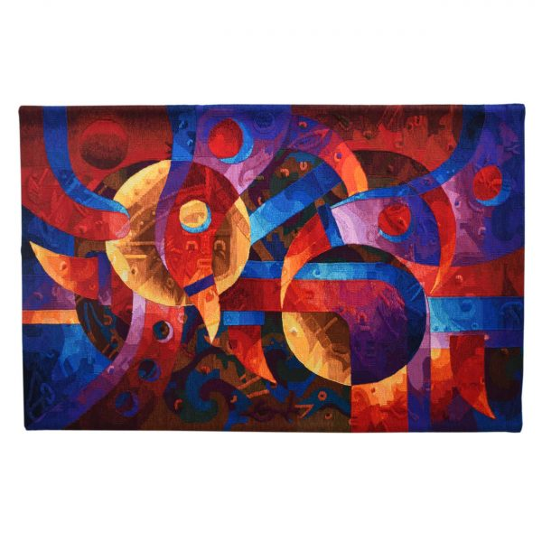 """Red Spirit of the EarthSize: 47 x 74"""""""
