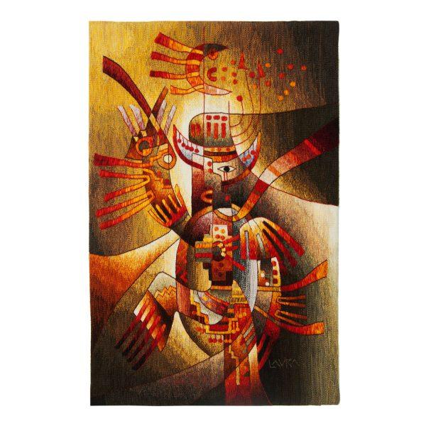 "Scissor DancerSize: 47 x 31"""