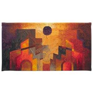 "Black Sun in the IntihuatanaSize: 47 x 78"""
