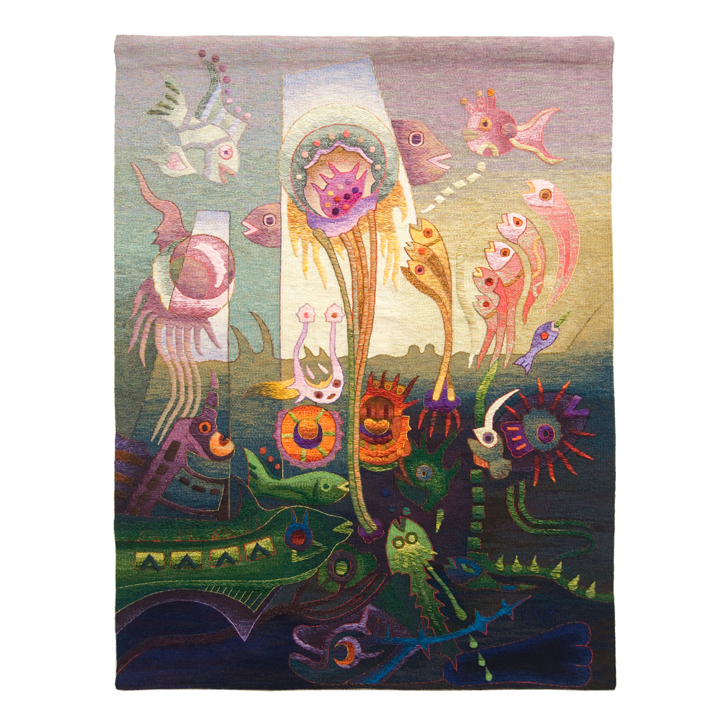 Worship of the JellyfishSize: 62 x 47""