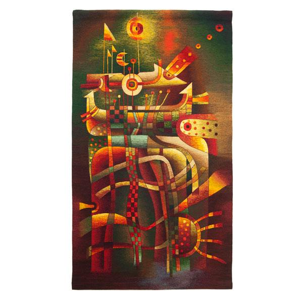 """Cosmic Harmony IISize: 82 x 47"""""""